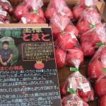 甘い地元のトマト入荷中!
